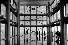 伦巴第的地方政府的宫殿 免版税库存图片