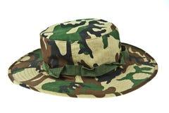 伪装沙漠帽子军人 免版税图库摄影
