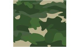 伪装背景绿色军事样式 库存照片