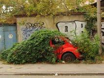 伪装车,但是不作战的 免版税库存照片