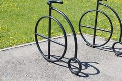 伪造的自行车 图库摄影