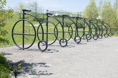伪造的自行车 免版税库存照片