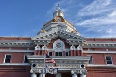 伯克利县法院大楼在马丁斯堡,西维吉尼亚 免版税库存图片