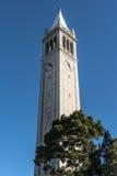 伯克利的,加利福尼亚钟楼 库存照片