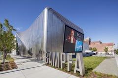 伯克利美术馆和和平的影片档案外部  免版税库存图片