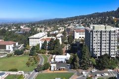 伯克利,加利福尼亚鸟瞰图  库存图片