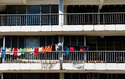伯利兹市少数民族居住区 免版税库存图片