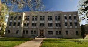 伯利县法院大楼 图库摄影