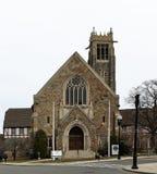伯大尼公理会在昆西,马萨诸塞 免版税图库摄影