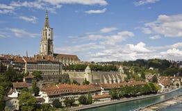 伯尔尼国会大厦瑞士 库存照片