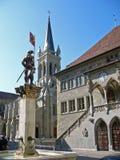 伯尔尼大厅瑞士城镇 库存图片