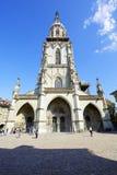 伯尔尼大教堂,瑞士 库存图片