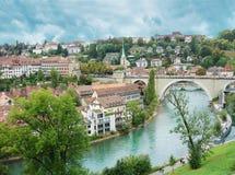 伯尔尼瑞士视图 免版税库存图片