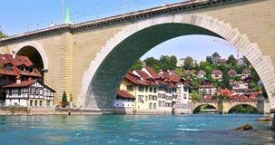 伯尔尼,瑞士夏天视图  股票视频