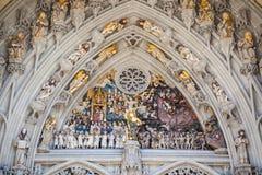 伯尔尼,瑞士大教堂  库存照片