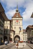 伯尔尼,瑞士的市中心 免版税图库摄影