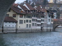 伯尔尼 伯尔尼,瑞士首都的图象 免版税库存图片