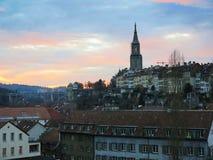 伯尔尼 伯尔尼,瑞士首都的图象 免版税库存照片