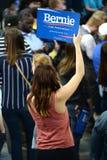 伯尼・桑德斯集会在圣查尔斯,密苏里 免版税库存照片