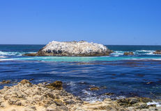 伯德岛, 17英里推进 免版税库存图片