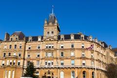 伯恩茅斯城镇厅,英国 免版税库存图片