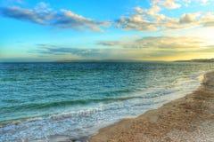 伯恩茅斯海滩,英国 库存照片