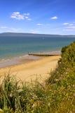 伯恩茅斯海滩 库存照片