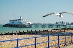 伯恩茅斯英国码头 免版税图库摄影