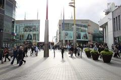 伯明翰,英国,斗牛场, 16 10月2010日 免版税图库摄影