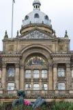 伯明翰,英国, 2017年10月3日, :伯明翰市议会历史大厦 库存图片