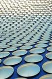 伯明翰-修造质朴的selfridges和明亮的蓝天 图库摄影