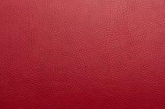 伯根地红色油漆皮革背景 免版税库存图片