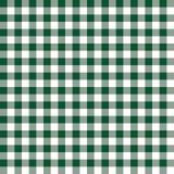 伯根地绿色和白色格子花呢披肩传染媒介背景 无缝的重复方格的样式 库存例证