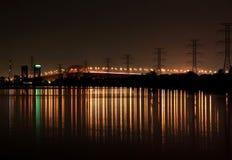 伯灵屯安大略Skyway桥梁 库存照片