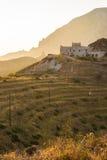 伯罗奔尼撒海岸风景 库存图片