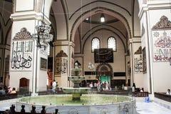 伯萨全部清真寺 免版税库存图片