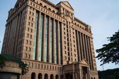 伯萨马来西亚Berhad大厦在吉隆坡 免版税库存照片
