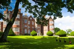 伯顿艾格尼丝霍尔是一所伊丽莎白女王的庄园住宅 库存照片