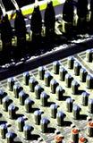 伴音系统 库存图片