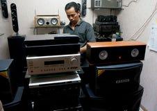 伴音系统 免版税图库摄影