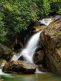 伶猴Kerawang瀑布, Balik Pulau,槟榔岛 库存照片