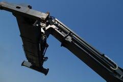 伸手可及的距离堆货机 免版税图库摄影