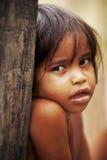 似亚马逊孩子 免版税库存图片
