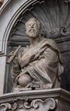 伽利略雕塑  免版税库存照片