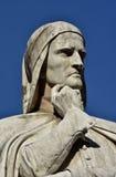 但丁・阿利吉耶里,最了不起的意大利诗人 库存照片
