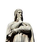 但丁・阿利吉耶里,最了不起的意大利诗人 库存图片
