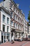 位于一个前豪宅的餐馆, Amsterda,荷兰 库存照片