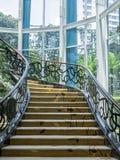 位于万隆的美丽的楼梯,印度尼西亚 库存照片