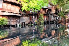 位于四川北部的九寨沟国家公园在中国的西南区域 免版税库存图片