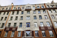 位于圣彼德堡的老大厦,俄罗斯 库存照片